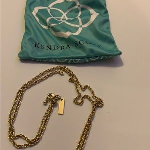 Kendra Scott Jewelry - Kendra Scott black and gold necklace